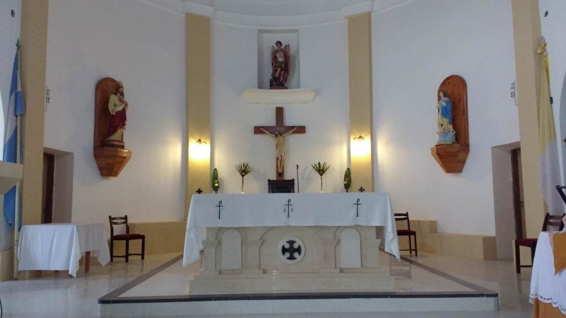 cross, christ, altar, san, parish san miguel arcangel recess, holy, jesús, eucharist