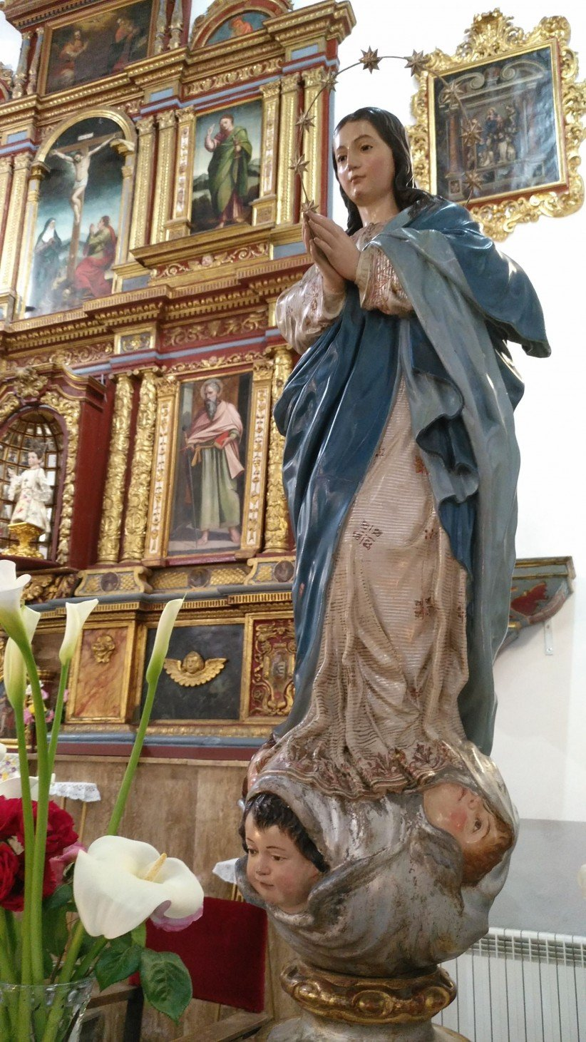 inmaculada, madre, virgen, mayo
