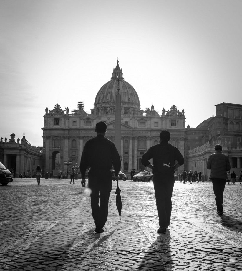 church, Vatican, basilica, pilgrimage, religious, friendship, seminarians, fraternity