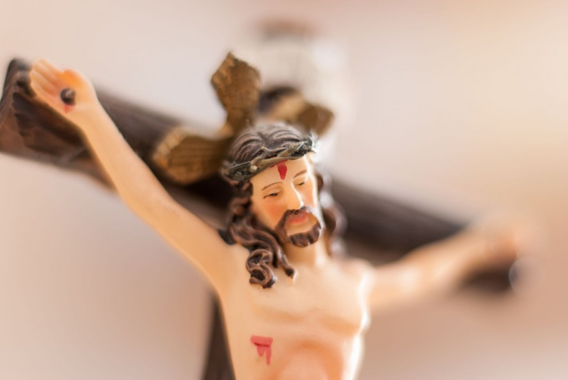 christ, cross, crown, lent, image, wound