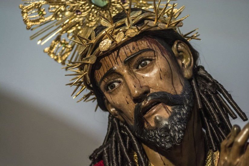 christ, jesus, nazarene, sculpture, ancient, guatemala