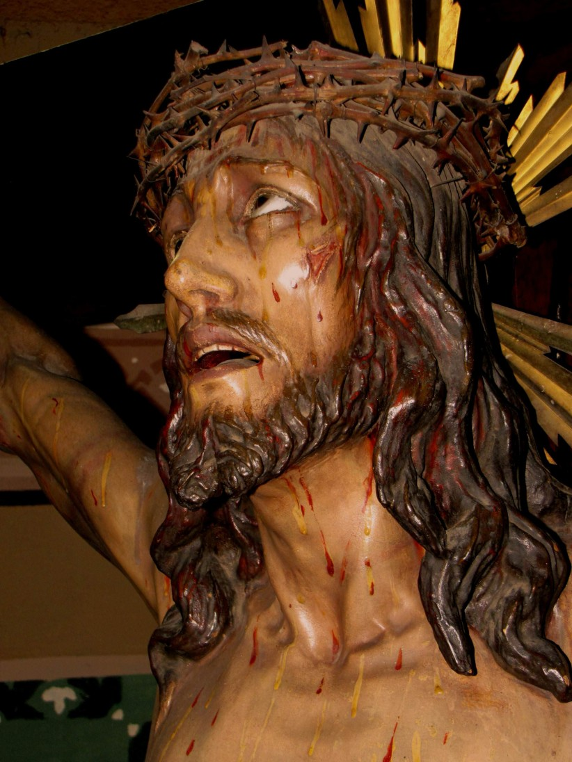 jesus, sculpture, passion, crucifix, costa rica, sacred art, lord of mercy, manuel zuniga
