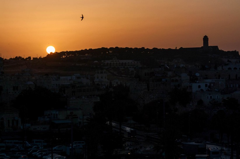 sky, holy land, dawn, israel, jerusalem