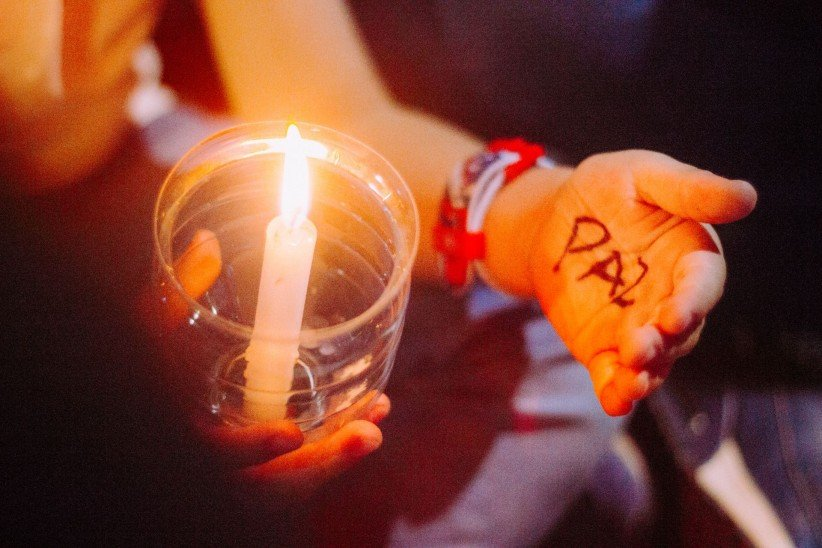 light, sentence, hands, sailing, candles, timetable, young boys, peace, children, spirit, fire, look, world