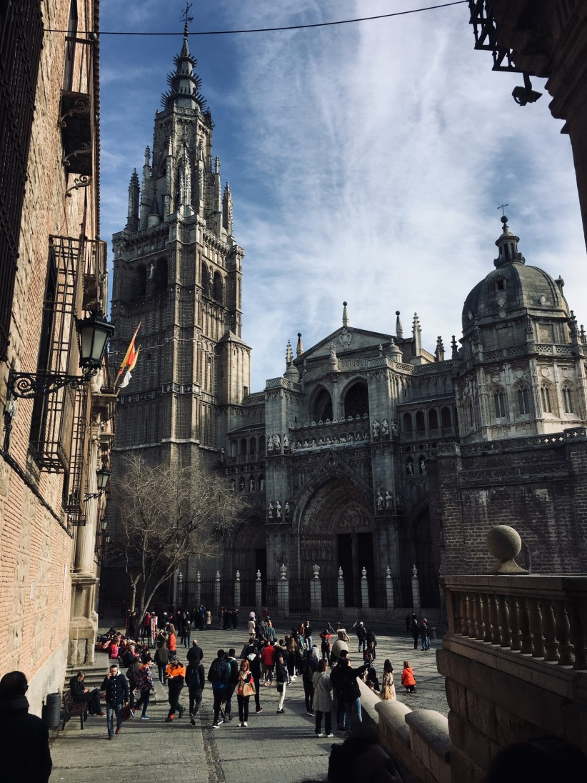 cathedral, people, toledo, primacy, home