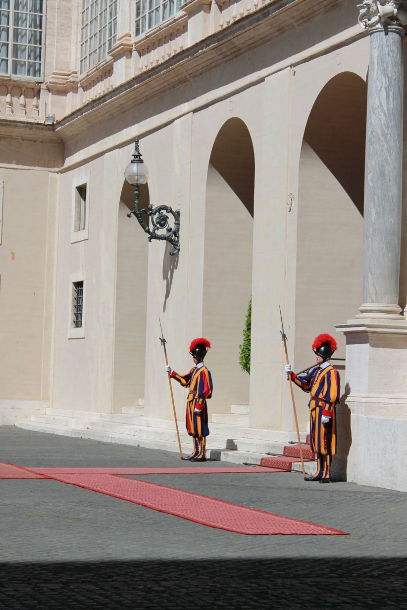vatican, guard, swiss, switzerland