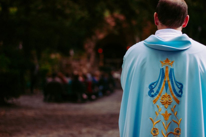 priest, father, mass, priesthood, celebration, mass, clothing