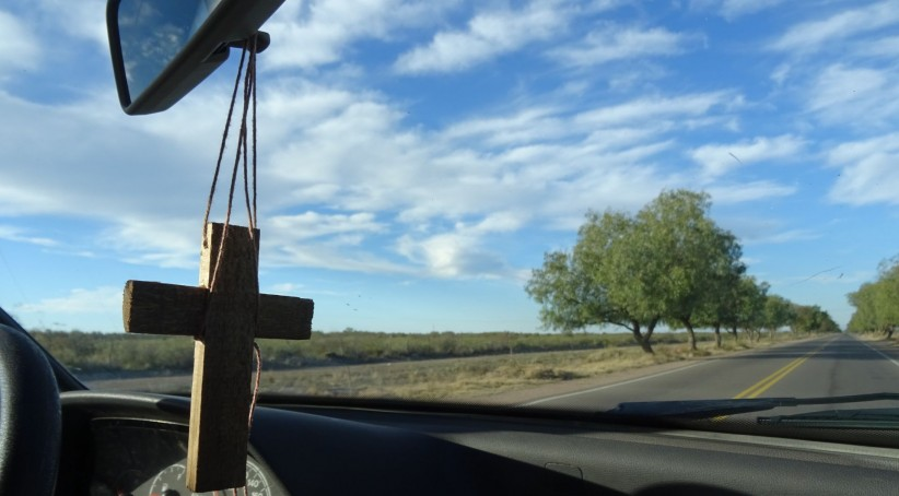 cross, jesus, highway