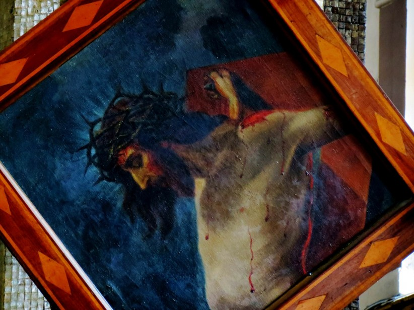 cross, crucifix, death, christ,  crucifixion, , jesus christ, holy friday, sacred art, easter, viacrucis, painting, portrait, salvation, crucifixion, redemption