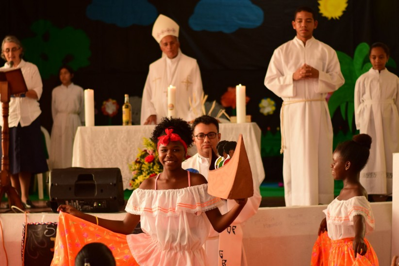 mass, offering, colombia, cartagena, ofertorio, caribbean